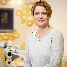 Portrait Dr. med. Annette Kyas Praxis für Gynäkologie & Geburtshilfe Hannover-Kleefeld
